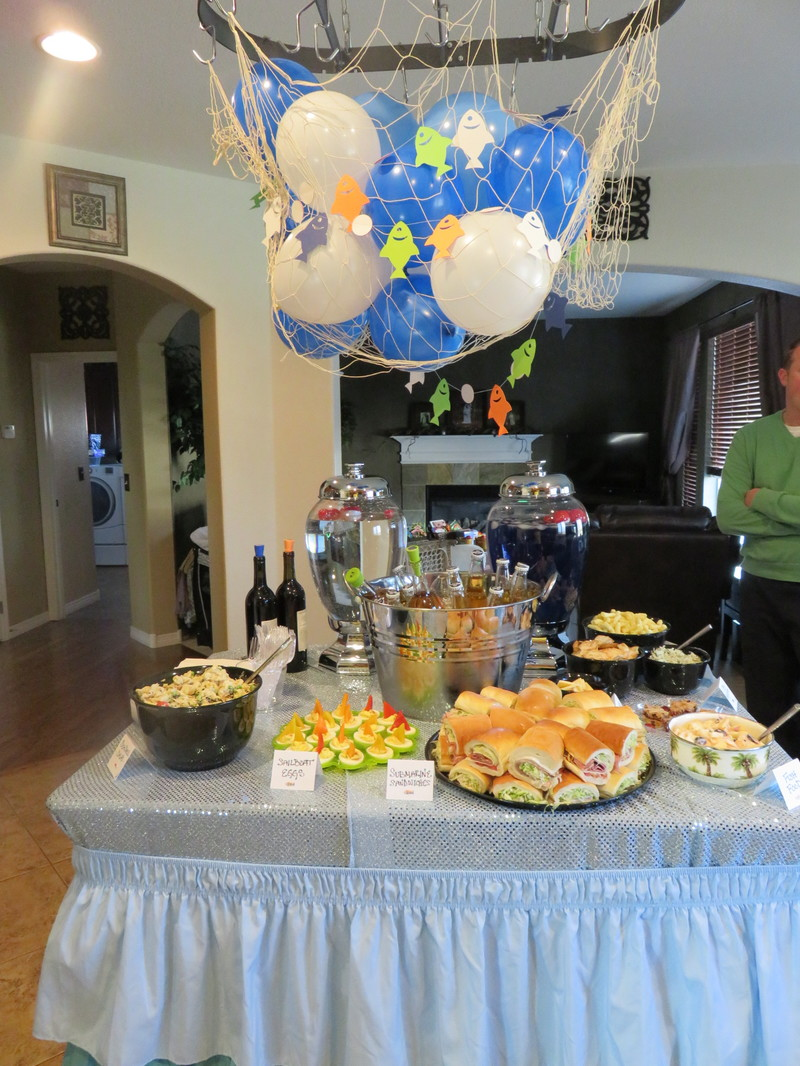 "A Fishing Themed Birthday Party... ""The Big ONE"""